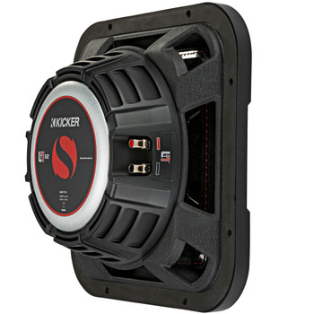 Kicker 46L7T124 L7T L7-Thin 12-Inch (30cm) Subwoofer, Dual Voice Coil, 4-Ohm, 600 Watt
