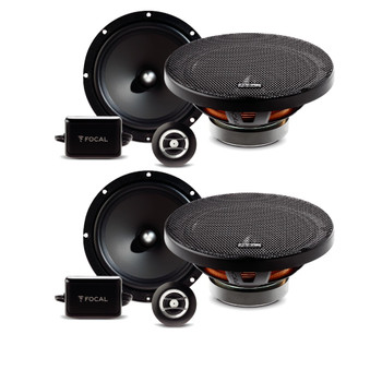 "Focal Bundle - Two Pairs Of Auditor RSE-165 6.5"" 2-Way Components"