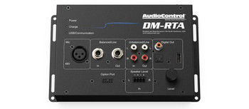 AudioControl DM-RTA with CM-10 Microphone -  Real Time Analyzer and Multi-Test Tool
