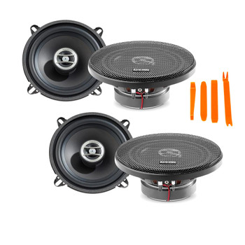 """Focal Auditor Bundle - Two pairs of Focal RCX-130 Auditor Series 5.25"""" 2-Way Coaxial Speakers"""