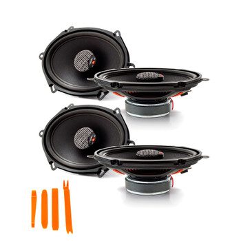 "Focal For Ford Bundle - Two pairs of Focal ICU-570 Integration Series 5x7"" Coaxial Speakers"