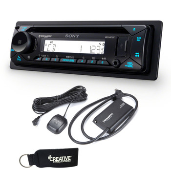 Sony MEX-M72BT Marine Bluetooth/CD Receiver & SiriusXM Satellite Radio Tuner