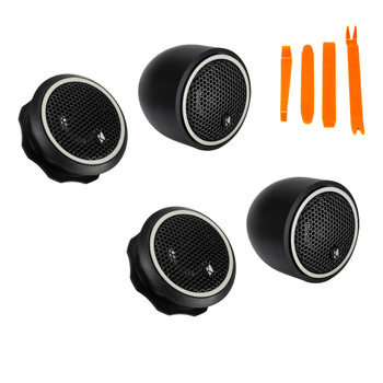 Kicker 46CST204 - Two Pairs Of CS-Series CST20 .75-inch (20mm) Tweeters With Crossovers, 4-Ohm (2 Pairs)