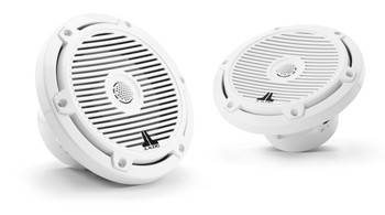 "JL Audio M3-650X-C-Gw - M3 6.5"" Marine Coaxial Speakers (pair) - Gloss White Classic Grilles"
