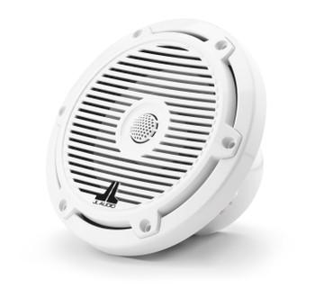 "JL Audio M3-650X-C-Gw - M3 6.5"" Marine Coaxial Speakers (pair) - Gloss White Classic Grilles"