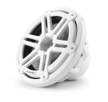 "JL Audio M3-10IB-S-Gw-4 - M3 10"" 4-Ohm Infinite Baffle Marine Subwoofer - Gloss White Sport Grille"