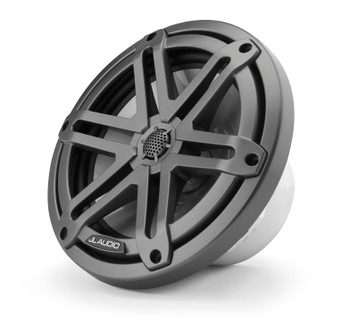 "JL Audio M3-770X-S-Gm - M3 7.7"" Marine Coaxial Speakers (pair) - Gunmetal Sport Grilles"