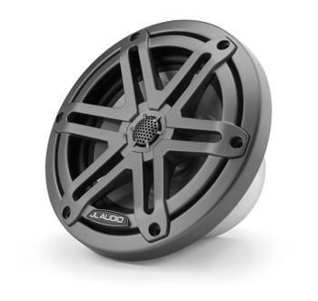 "JL Audio M3-650X-S-Gm - M3 6.5"" Marine Coaxial Speakers (pair) - Gunmetal Sport Grilles"