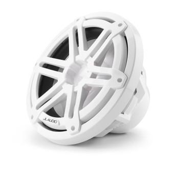 "JL Audio M3-10IB-S-Gw-i-4 - M3 10"" 4-Ohm Infinite Baffle Marine Subwoofer - LED Gloss White Sport Grille"