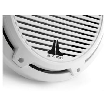 "JL Audio M3-10IB-C-Gw-4 - M3 10"" 4-Ohm Infinite Baffle Marine Subwoofer - Gloss White Classic Grille"