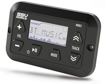 SSV Works MRB3 Panel mount Bluetooth Media Controller with LCD Display