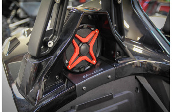 "SSV Works 170-SS-B65U Custom-fit 6-1/2"" Rear Speaker Pods For Polaris Slingshot"