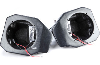 """SSV Works RG4-F65u 6.5"""" Front Kick Pods For Polaris Ranger XP1000 2018 and up"""
