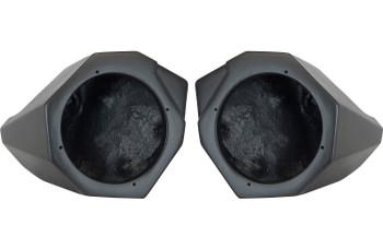"""SSV Works 170-X3-F65U Custom-Fit 6-1/2"""" Front Speaker Pods For Can-Am Maverick X3 & X3 Max"""