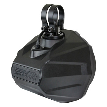"""SSV Works US2-C65U-185 Universal Cage Mount 6.5"""" Speaker Enclosures With 1.85"""" Roll Bar Clamps"""