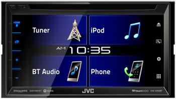 "JVC KW-V350BT 6.8"" Receiver With Bluetooth, 13-Band EQ + Back-Up Camera"