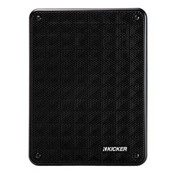 Kicker 46KB6B Black Indoor / Outdoor full-range, high-efficiency Speakers, Pair