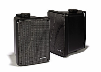 Kicker KB6000B Outdoor Speaker Black (Pair)