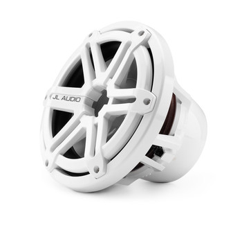 JL Audio M10IB5-SG-WH:10-inch (250 mm) Marine Subwoofer Driver White Sport Grilles 4 Ω