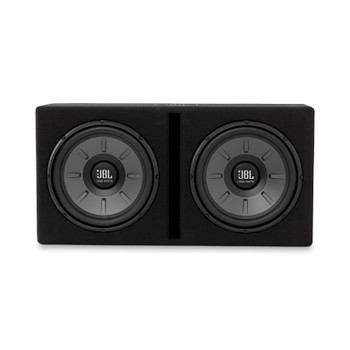 JBL Stage1220B Stage Series Dual 12 Inch Ported Loaded enclosure - 500 Watt, 2-Ohm