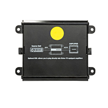 Kicker 46KISLOAD2 K-Series Smart-Radio Interface for adding an aftermarket mono amplifier