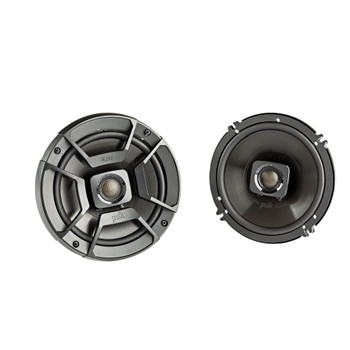 "SSV Works For RG4-F65U Polaris Ranger Front Kick Pods '18-up + Polk DB652 6.5"" Marine Rated Coax Speakers"