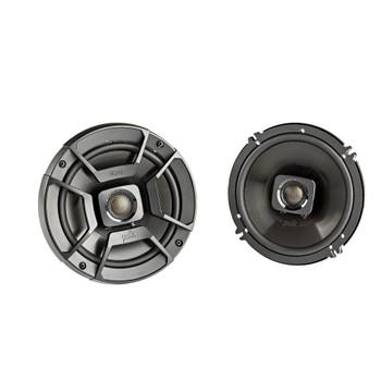 "SSV Works US2-C65U-185 Speaker Enclosures w/ 1.85"" Clamps + Polk DB652 6.5"" Coaxial Speakers with Marine Certification"