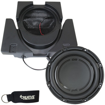 SSV Works X3-USL10U Sub Enclosure Compatible With Polk Audio DB1042DVC Subwoofer For Can-Am Maverick X3 and X3 Max