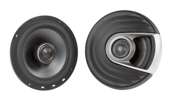 "SSV Works For RG4-F65U Polaris Ranger Front Kick Pods '18-up + Polk MM652 6.5"" Marine Rated Coax Speakers"