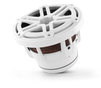 JL Audio M8IB5-SG-WH: 8-inch (200 mm) Marine Subwoofer Driver White Sport Grilles 4 Ω