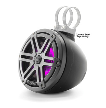 "JL Audio M3-VeX 6.5"" Enclosed Speaker System for Marine & Powersports, Matte Black & Gunmetal - M3-650VEX-Mb-S-Gm-i"