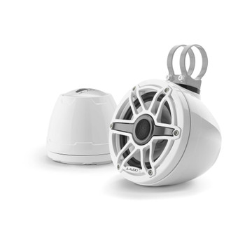 "JL Audio M6-VeX 6.5"" Enclosed Speaker System for Marine & Powersports, Gloss White -  M6-650VeX-Gw-S-GwGw"