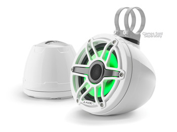 "JL Audio M6-VeX 6.5"" Enclosed Speaker System for Marine & Powersports, Gloss White -  M6-650VeX-Gw-S-GwGw-i"