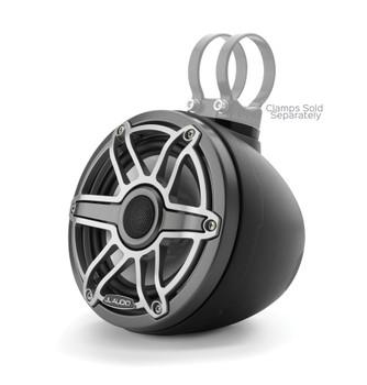 "JL Audio M6-VeX 6.5"" Enclosed Speaker System for Marine & Powersports,  Matte Black & Gunmetal-  M6-650VEX-Mb-S-GmTi"