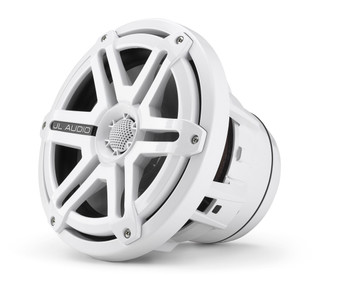JL Audio M880-CCX-SG-WLD-B 8.8-inch Cockpit Coaxial Speaker System White Blue LED