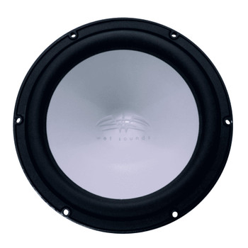 Wet Sounds REVO 10 High Power S4-B Black 10 Inch 4 Ohm Subwoofer, Grill sold seperately - Used Very Good