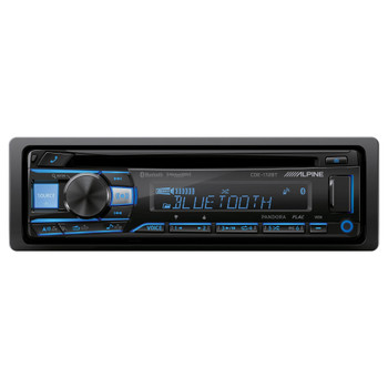 Alpine CDE-172BT CD Receiver with Bluetooth® Wireless Technology - Open Box