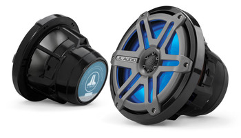 JL Audio M880-CCX-SG-TLD-B 8.8-inch Cockpit Coaxial Speaker System Titanium Blue LED - Used Acceptable