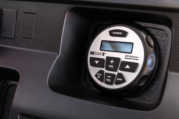 MB Quart GMR-2.5 Waterproof AM/FM Powered Bluetooth Controller with Apple Control - Open Box