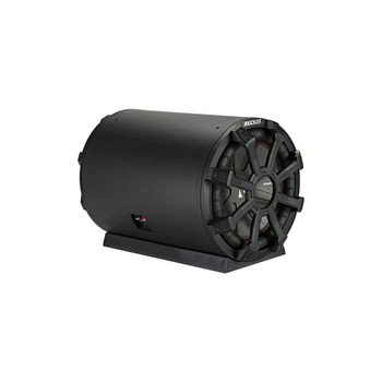 Kicker 46CWTB104 TB10 10-inch Loaded Weather-Proof Subwoofer Enclosure w/Passive Radiator - 4-Ohm, 400 Watt - Open Box