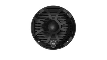 Wet Sounds REVO 6-SWB Black Closed SW Grille 6.5 Inch Marine LED Coaxial Speakers (pair) - Open Box