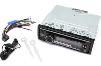 JVC KD-SR83BT USB/CD Receiver with Bluetooth - Open Box