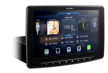 "Alpine iLX-F309 HALO9 9"" AM/FM/audio/video 9"" Touch Screen and Mech-less Design - Single-DIN Mounting - Used Acceptable"