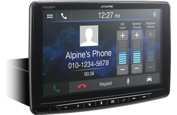"Alpine iLX-F259 HALO9 9"" AM/FM/audio/video 9"" Touch Screen and Mech-less Design - Single-DIN Mounting - Used Very Good"