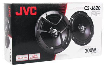 """JVC CSJ620 6.5"""" Car Audio 2-WAY Coaxial Speakers System (Pair) - Used Very Good"""