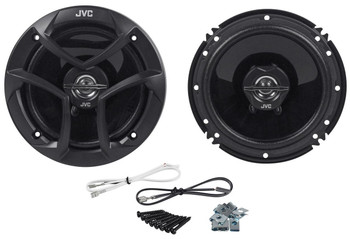"JVC CSJ620 6.5"" Car Audio 2-WAY Coaxial Speakers System (Pair) - Used Very Good"