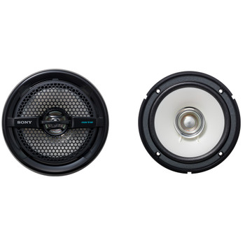 Sony XS-MP1611B 6.5 in (16 cm) Dual-Cone Marine Speaker (Pair) - Open Box