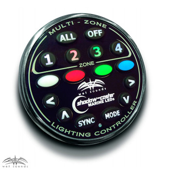 Wet Sounds 4-Zone RGB LED controller. - Used Very Good