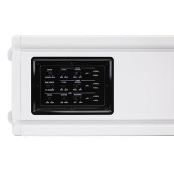 MB Quart NA3-1000.5 Nautic Amplifiers - Rated IPX5 White 4 x 60 Plus 1 x 350 RMS @ 4 Ohms, 4 x 120 @ 2 Ohms