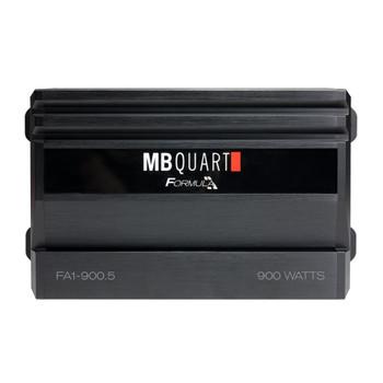 MB Quart FA1-900.5 Formula Series 4 x 60 Watts + 1 x 250 Watts @ 4 Ohms, 4 x 100 Watts +1 x 350 Watts @ 2 Ohms